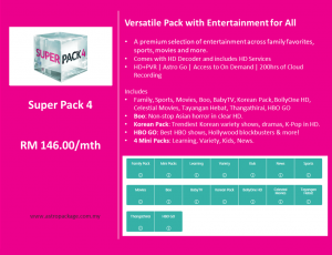 Astro Package - SuperPack 4 Detail