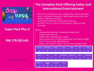 Astro Package - SuperPack Plus 2 Detail