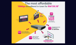 Latest Astro broadband promotion Oct 2017