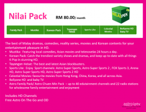 Astro Value Pack - Nilai Pack