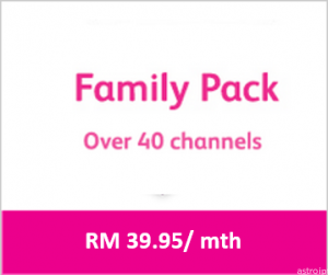 Astro package Family Pack