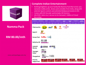 Astro Package Value Pack Namma Detail