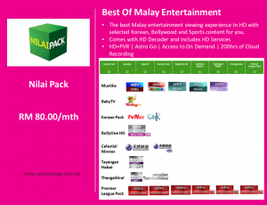 Astro Package Value Pack Nilai Detail