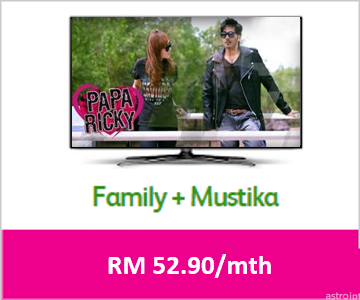 astro package - Essential Malay Entertainment