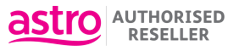 Astro Authorised Reseller logo