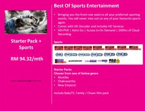 Starter Pack Sports Detail